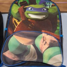 Ninja Turtle 3D Backpack