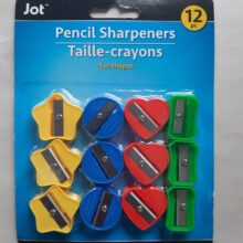 Jot 12 pc Pencil Sharpeners