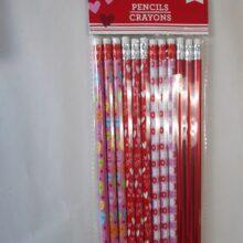 12 Pc Pencils