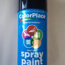ColorPlace Black Spray Paint