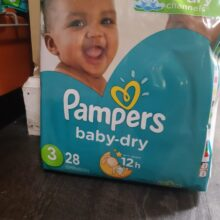 Pampers Stage 3 28 ct