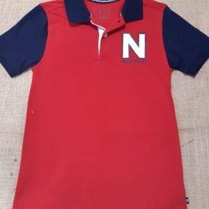 Nautica Red & Blue Shirt
