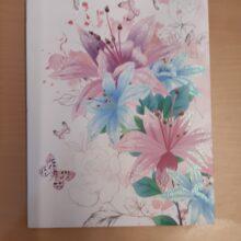 Butterfly Flower Gift Bag