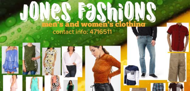 Jones fashions