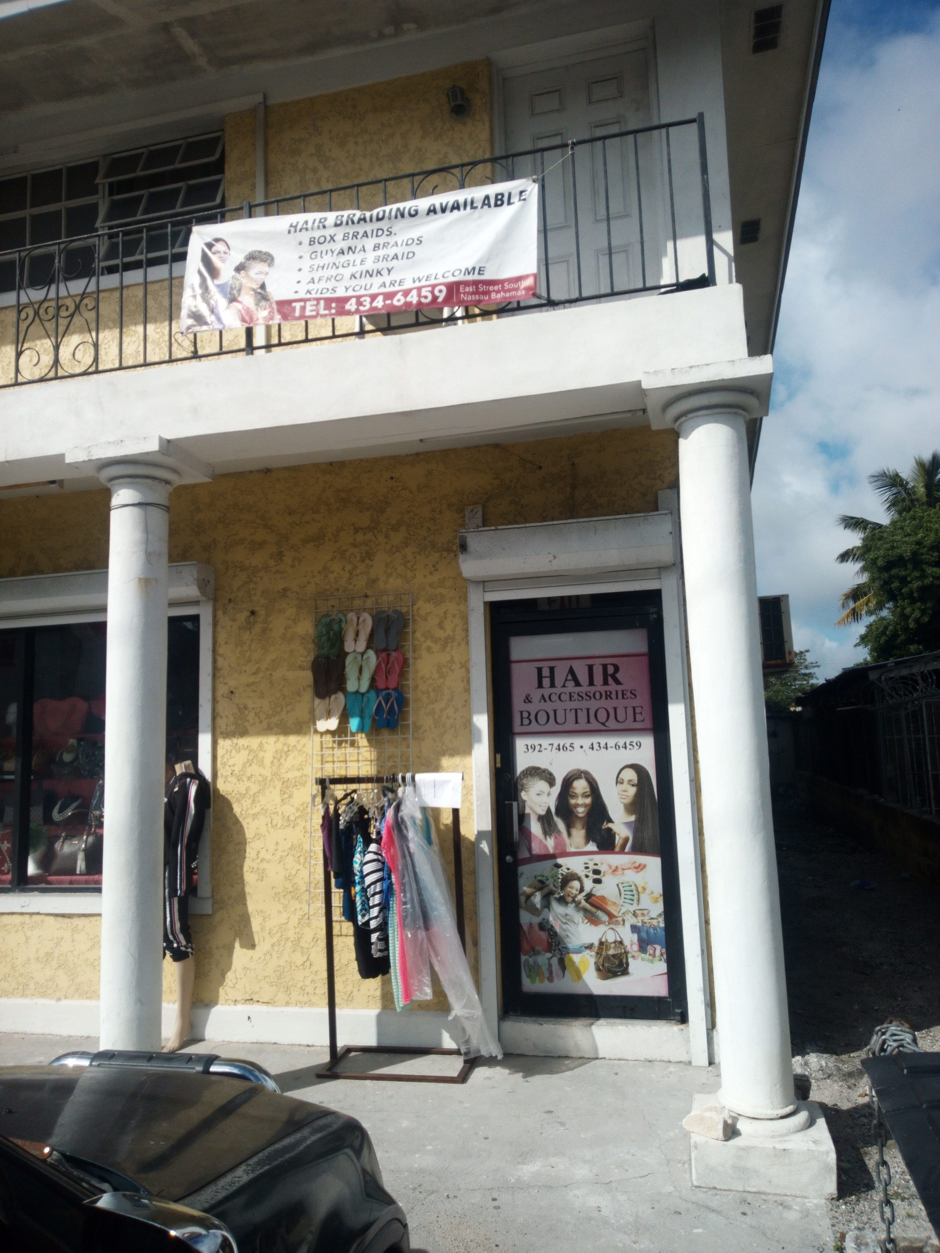 Hair and accessories boutique