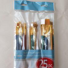 Paint Brush set 25 piece