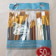 Paint brush set 50 piece