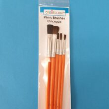 5 piece brush set