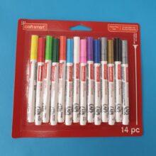 Paint pen set 14 piece
