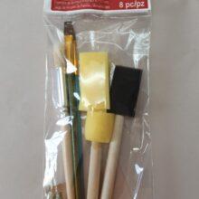 Craft and Stencil 8 brush set