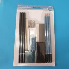 Charcoal Pencil set 18 piece