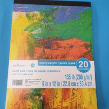 20 Sheet Paint Pad