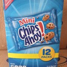 Mini Chips Ahoy 12 ct Box