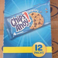 Chips Ahoy 12 1.5oz Pack