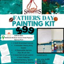 Father's Day Paint Special